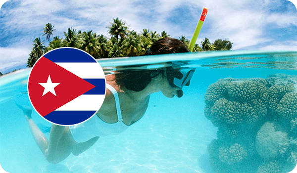 Куба кораллы